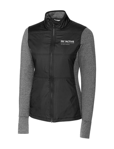 CB Ladies L/S Stealth Full Zip