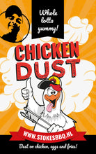 Chicken Dust. Best on chicken, eggs and fries!