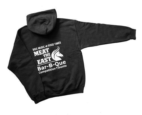 Meat the East bbq competition hoodie