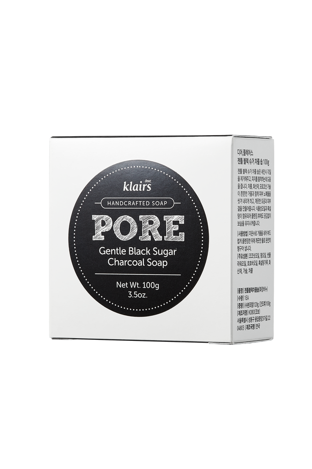 Klairs Pore Gentle Black Charcoal Soap