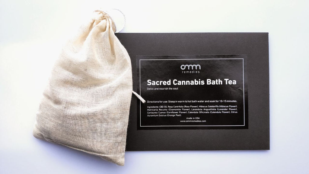 Sacred Cannabis Bath Tea
