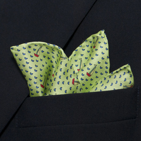 Boats - Pocket Square