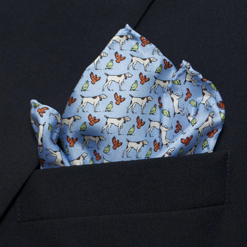 Pointer & Quail - Pocket Square