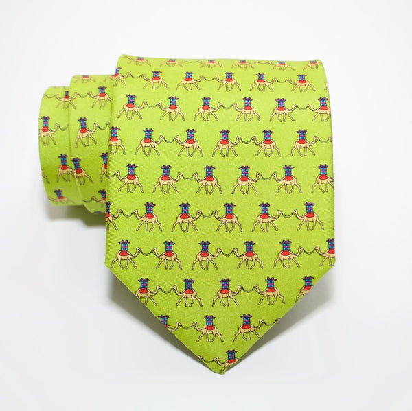 Gifted Camel - Print Regular Tie