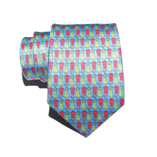 Flippers - Print Regular Tie