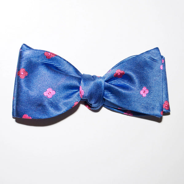 Flowers - Woven Bow Tie