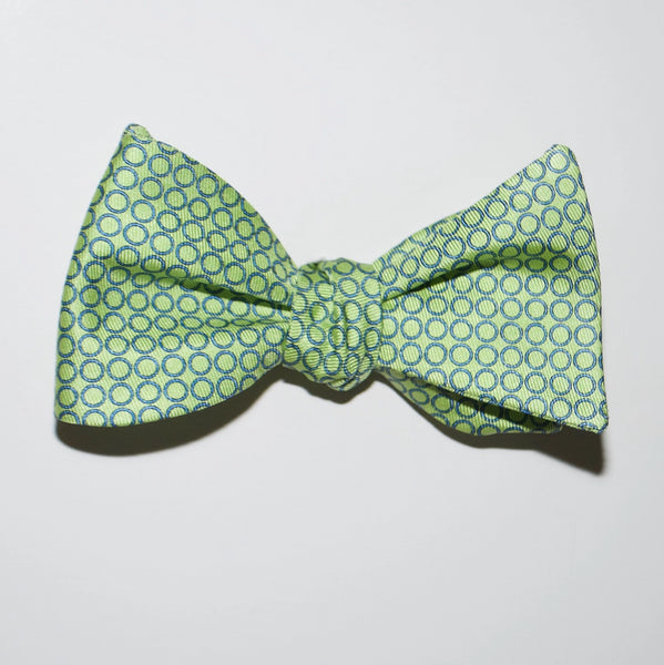 Thin Rings - Print Bow Tie