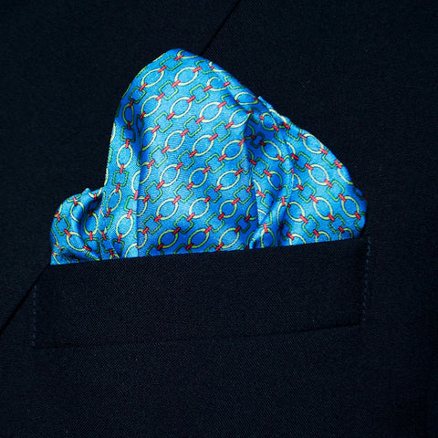 Cha-Chink - Pocket Square