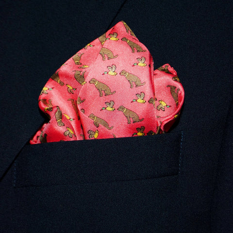 Duck Dog - Pocket Square