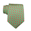 Small Holiday Dot - Woven Regular Tie