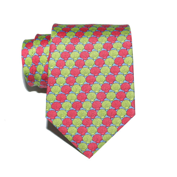 Shells - Print Regular Tie