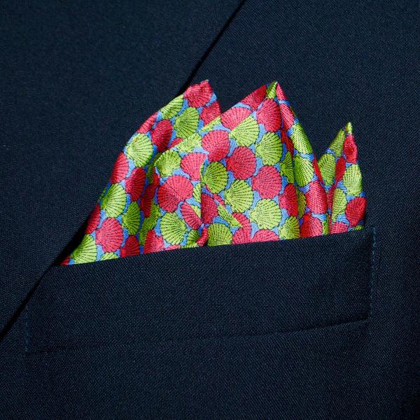 Shells - Pocket Square