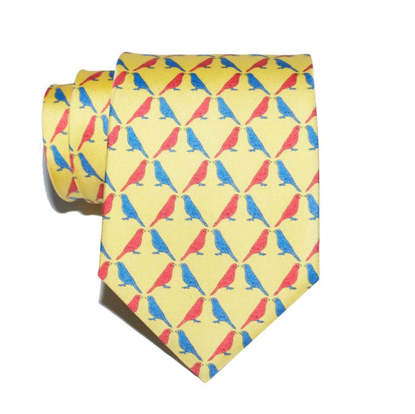 Sparrow - Print Regular Tie