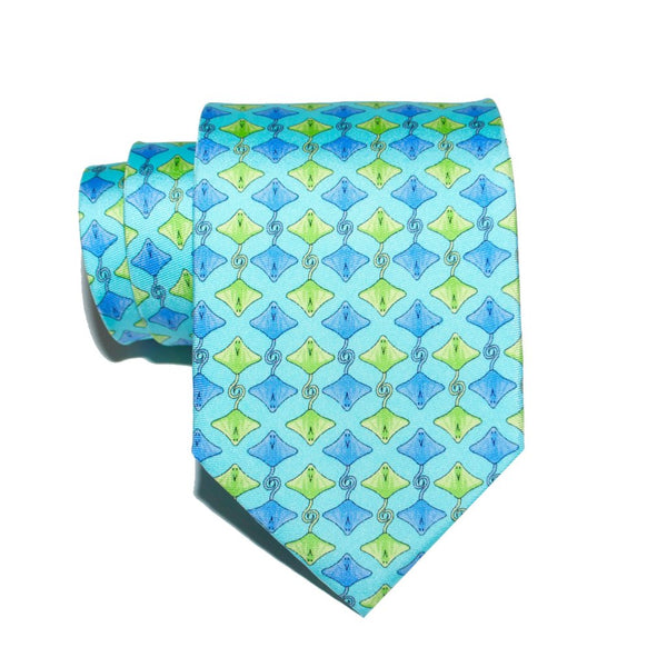 Sting Ray - Print Regular Tie