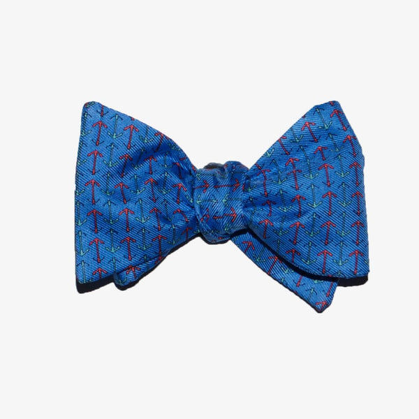 Anchors - Print Bow Tie