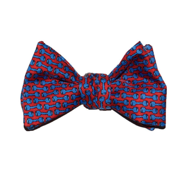 Barbells - Print Bow Tie