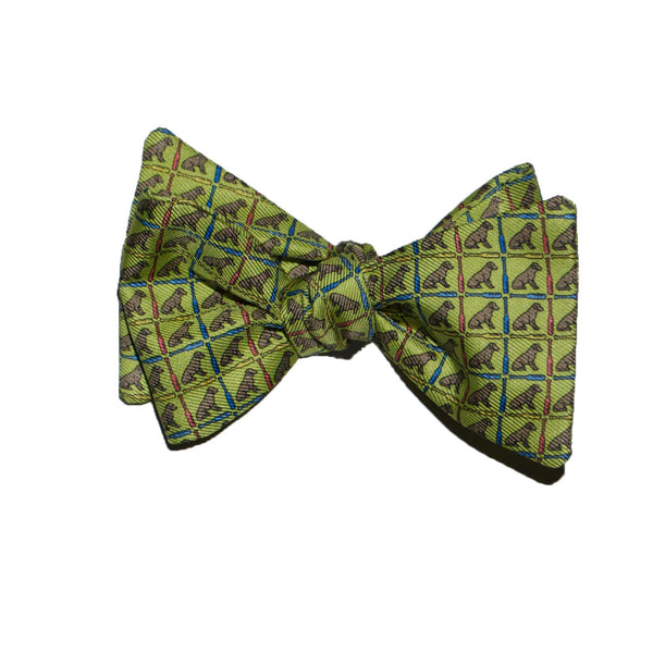 Dog Paddle - Print Bow Tie