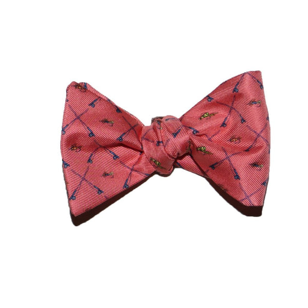 Fish Fly - Print Bow Tie