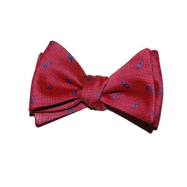 Goose Point - Woven Bow Tie