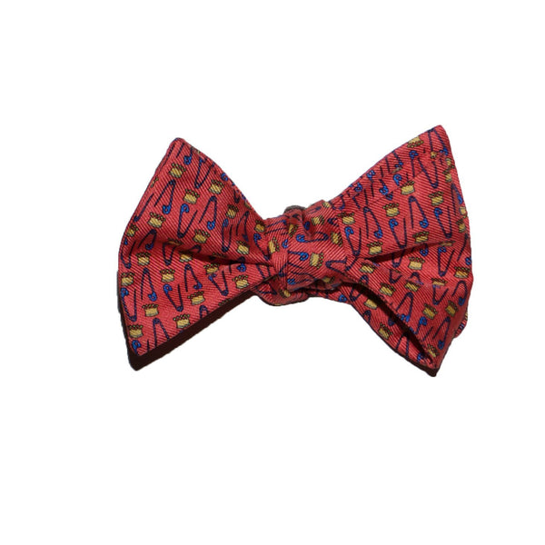 King Pin - Print Bow Tie