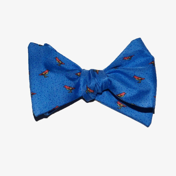 Snow Bird - Print Bow Tie
