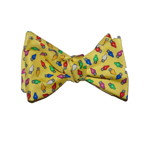 Holiday Lights - Print Bow Tie