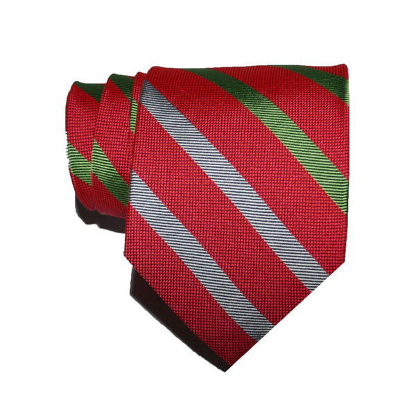 Holiday Stripe - Woven Regular Tie
