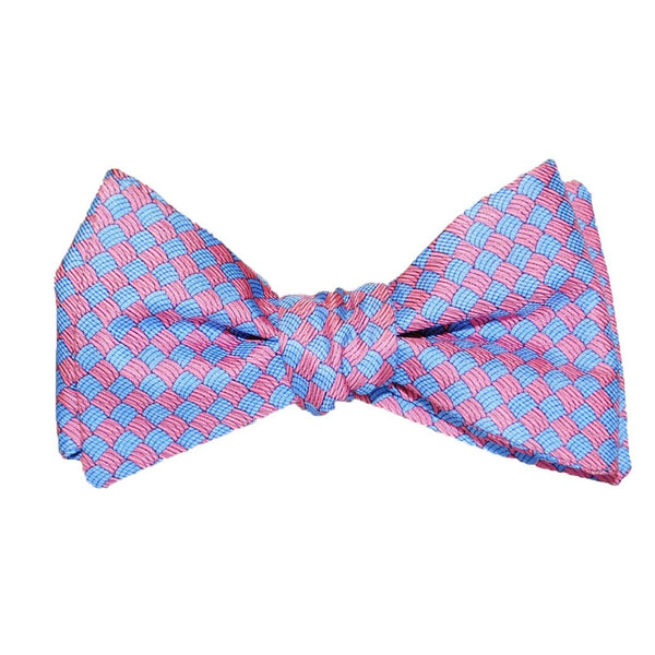 Basketweave - Print Bow Tie