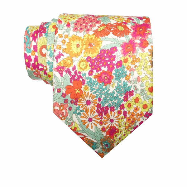 Liberty Prints 36 Pink - Regular Tie
