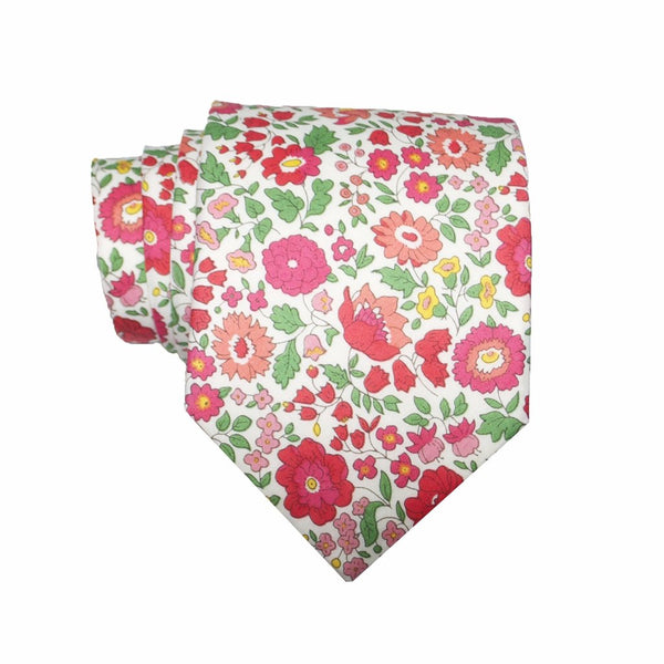 Liberty Prints 36 Red - Regular Tie