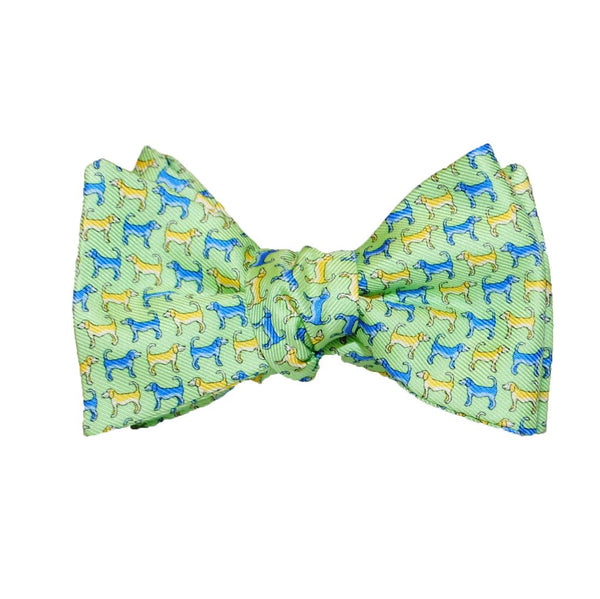 Twin Dogs - Print Bow Tie