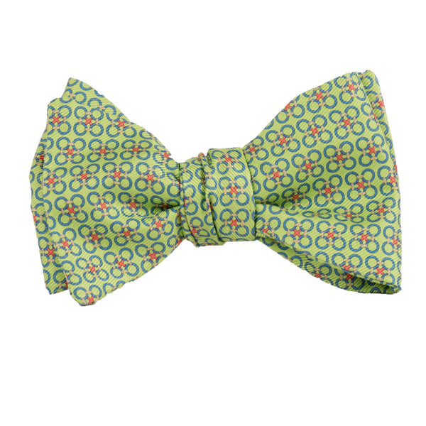 Circle Cross - Print Bow Tie