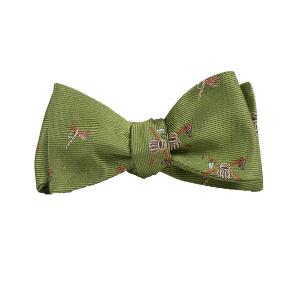 Creel & Rods - Woven Bow Tie