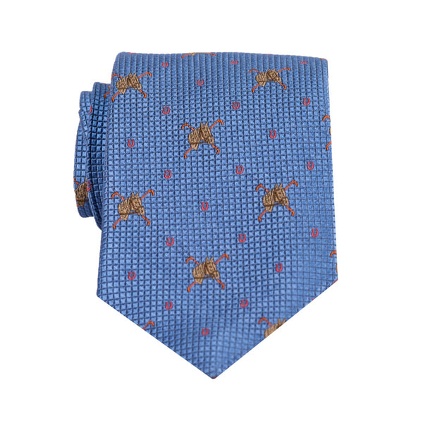 Equestrian- Woven Extra Long Tie