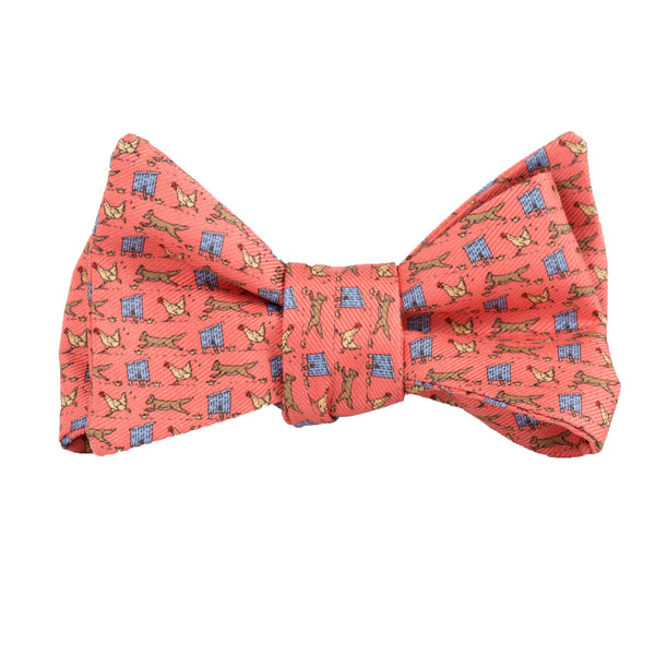 Fox in Hen House - Print Bow Tie