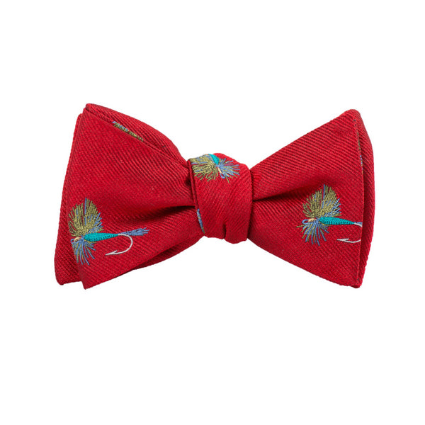 Fish Fly - Woven Bow Tie