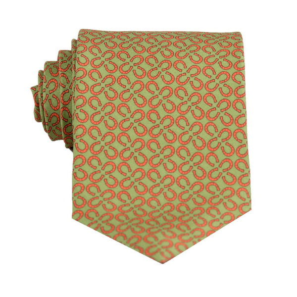 Horse Shoes- Print Regular Tie