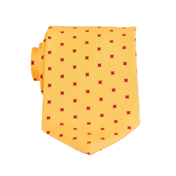 Square Foulard - Print Regular Tie