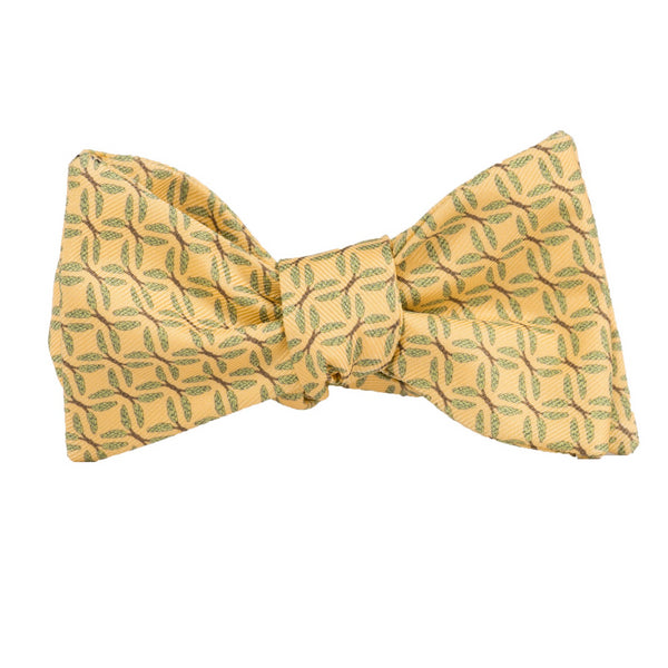 Wheat - Print Bow Tie