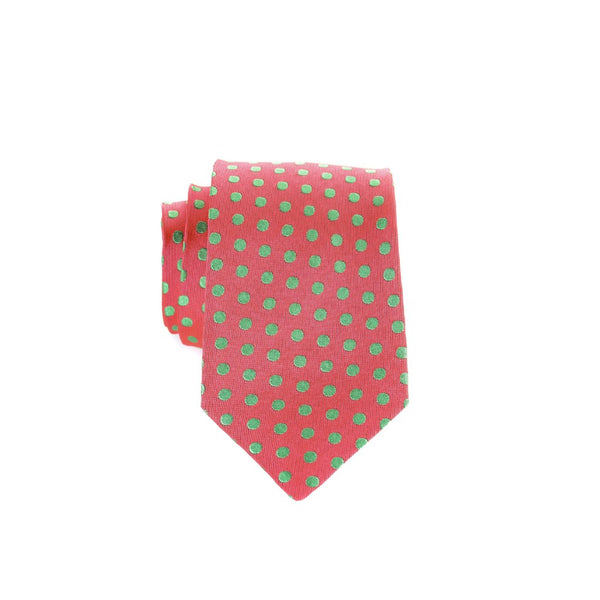 Small Dots - Woven Regular Tie