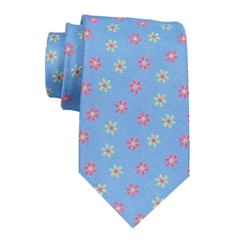 Blooms - Woven Extra Long Tie