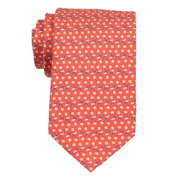 Cherries - Print Regular Tie