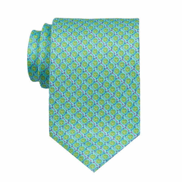 Key Lime - Print Regular Tie