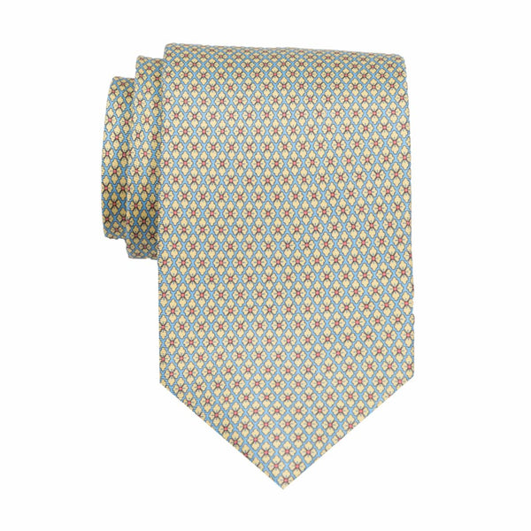 QuadraFlower - Print Regular Tie