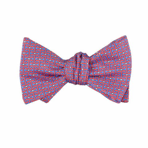 Anchored - Print Bow Tie