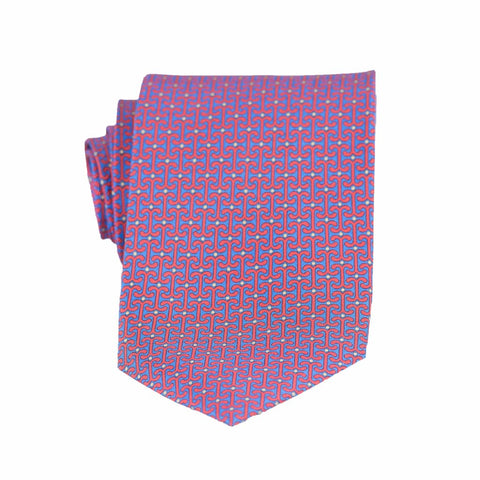 Anchored - Print Regular Tie