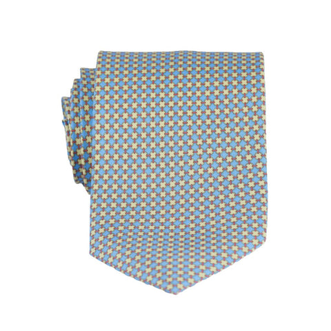 Bevelled Print Regular Tie