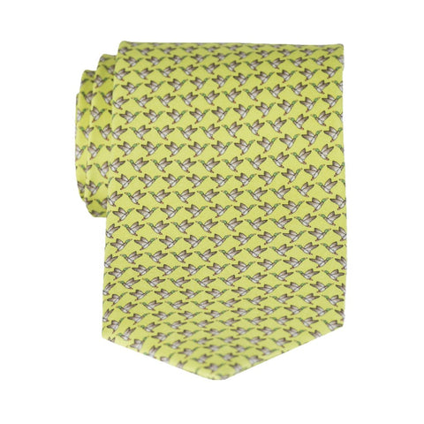 In Flight - Print Regular Tie