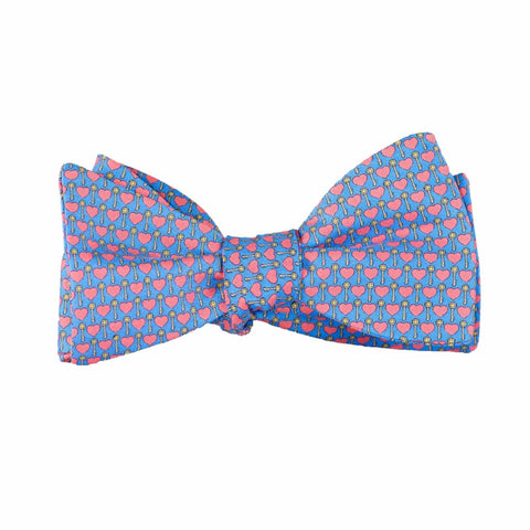 Key to My Heart - Print Bow Tie