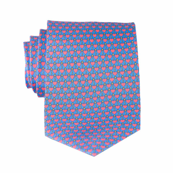 Key to My Heart - Print Regular Tie